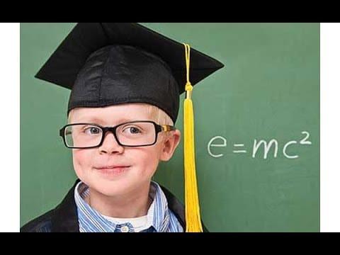 niños inteligentes