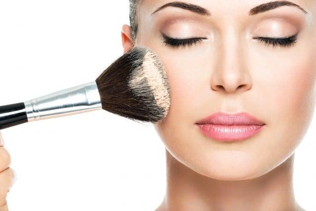 El maquillaje de una mujer moderna