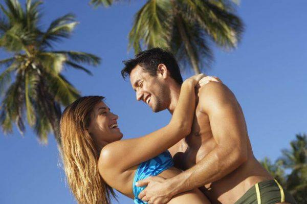 amor de verano en la playa