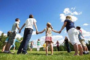 fotografia de actividades solidarias para niños