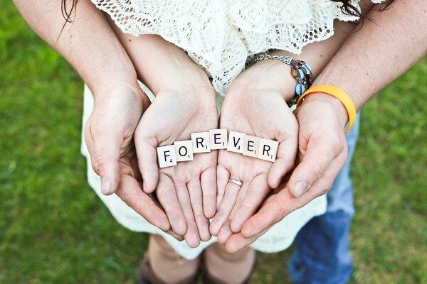 fotografía juntos para siempre
