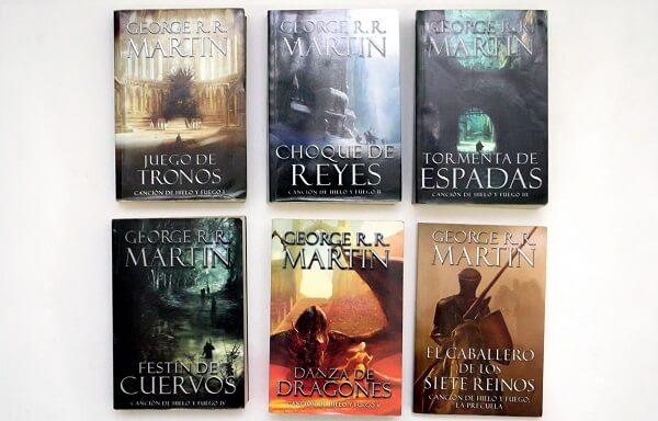 libros saga juego de tronos