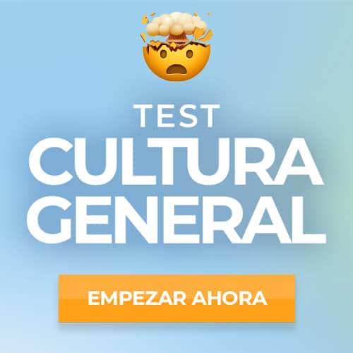 Test Cultura General